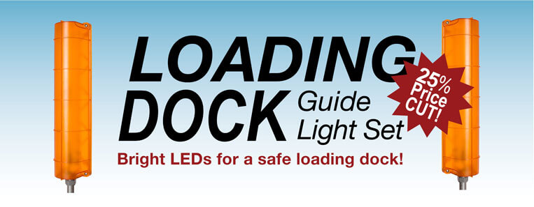 loading dock led guide lights