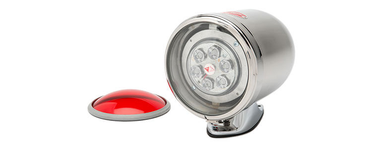 mars 888 oscillating warning beacon for fire trucks and emergency vehicles