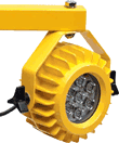 heavy duty dock light arm