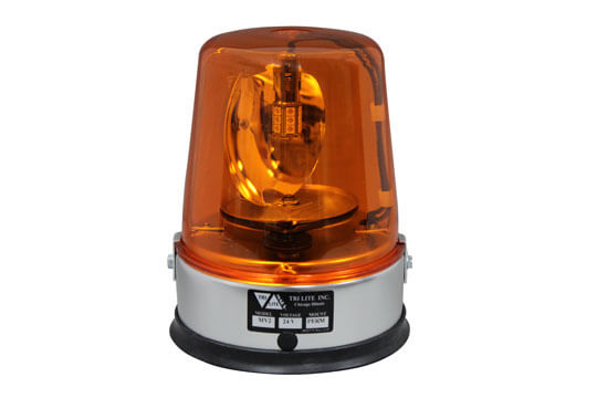 MV2LED AC/DC Rotating Beacon Light